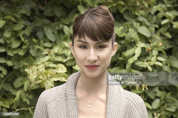 Actress Troian Avery Bellisario poses for a portrait session on May 22 Los Angeles California