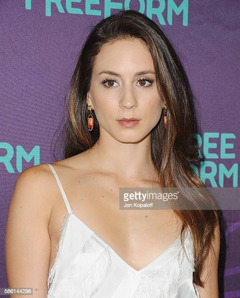Actress Troian Bellisario arrives at Disney ABC Television Group Hosts TCA Summer Press Tour at the Beverly Hilton Hotel on August 4 2016 in Beverly...