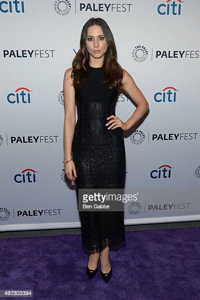 Actress Troian Bellisario attends PaleyFest New York 2015 for 'Pretty Little Liars' at The Paley Center for Media on October 11 2015 in New York City