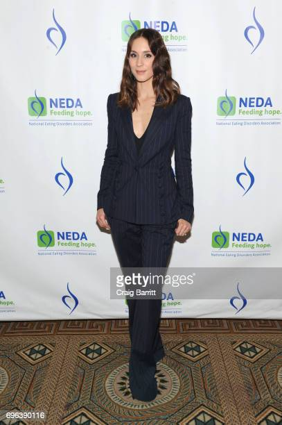 Actress Troian Bellisario attends the 15th Annual Benefit Gala 'An Evening Unmasking Eating Disorders' hosted by The National Eating Disorder...