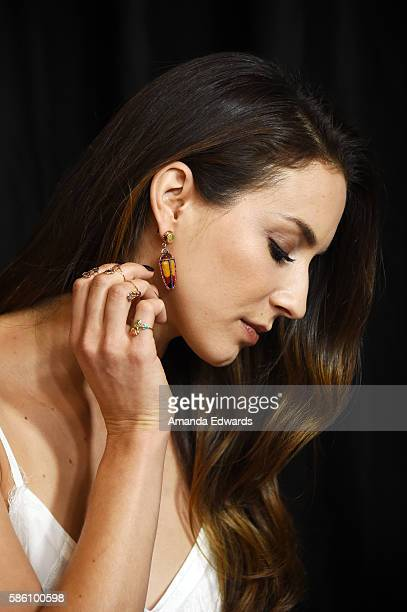 Actress Troian Bellisario attends the Disney ABC Television Group TCA Summer Press Tour on August 4, 2016 in Beverly Hills, California.