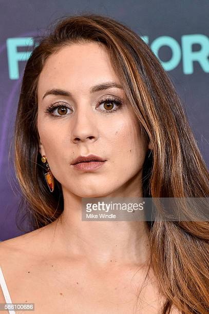 Actress Troian Bellisario attends the Disney ABC Television Group TCA Summer Press Tour on August 4 2016 in Beverly Hills California