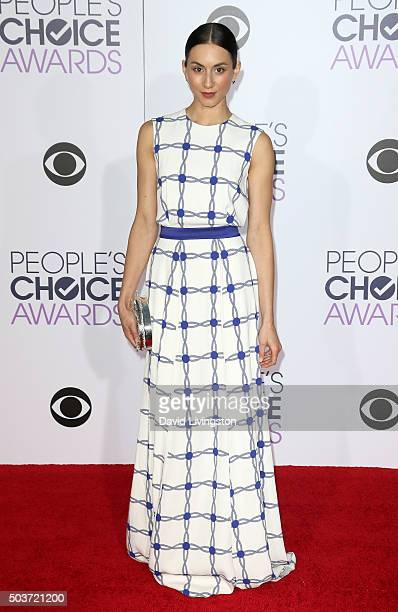 Actress Troian Bellisario attends the People's Choice Awards 2016 at Microsoft Theater on January 6 2016 in Los Angeles California