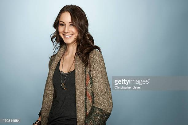 Actress Troian Bellisario is photographed for Entertainment Weekly Magazine on January 21, 2013 in Park City, Utah.