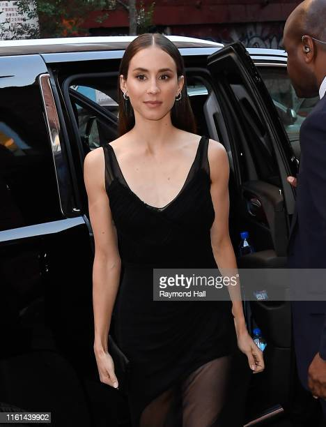 Actress Troian Bellisario is seen soho on August 12 2019 in New York City