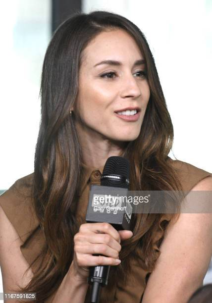 """Actress Troian Bellisario visits the Build Series to discuss the film """"Where'd You Go Bernadette"""" at Build Studio on August 12 2019 in New York City"""