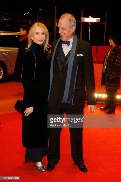Actress Trudie Styler and actor Marshall Bell attend the 'The Shining Hommage Milena Canonero' premiere during the 67th Berlinale International Film...