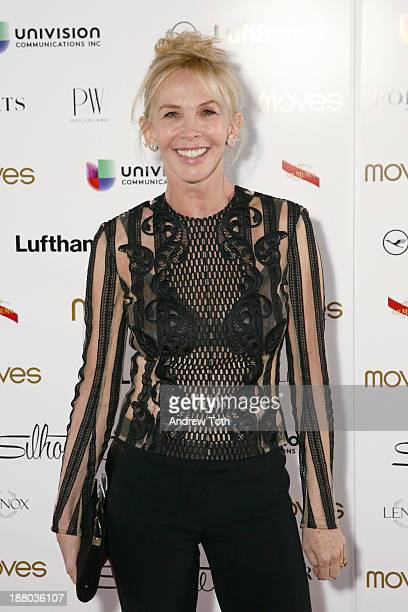 Actress Trudie Styler attends the PowerWomen 2013 awards on November 14 2013 in New York City