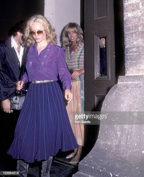 Actress Tuesday Weld and actress Susan Anton attend Dudley Moore's Piano Recital on June 6, 1983 at Carnegie Hall in New York City.