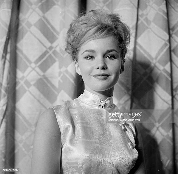 Actress Tuesday Weld attends the movie premiere of Say One for Me in Los AngelesCA