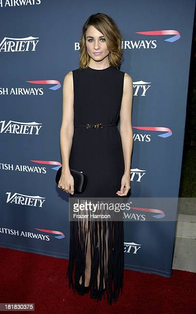Actress Tuppence Middleton attends British Airways and Variety Celebrate The Inaugural A380 Service Direct from Los Angeles to London and Discover...
