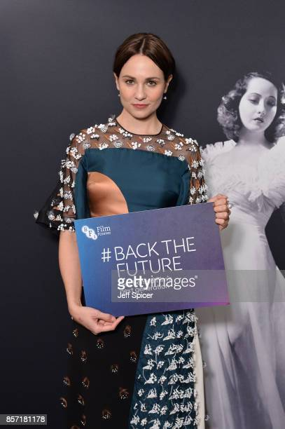 Actress Tuppence Middleton attends the BFI Luminous Fundraising Gala at The Guildhall on October 3 2017 in London England