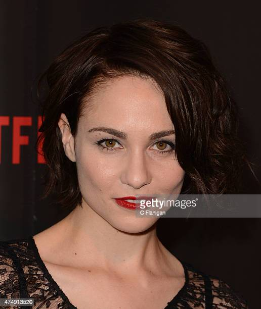 Actress Tuppence Middleton attends the Premiere Of Netflix's Sense8 at AMC Metreon 16 on May 27 2015 in San Francisco California
