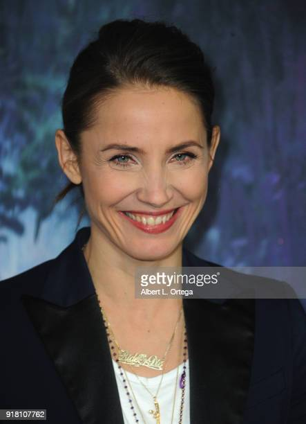 Actress Tuva Novotny arrives for the Premiere Of Paramount Pictures' 'Annihilation' held at Regency Village Theatre on February 13 2018 in Westwood...