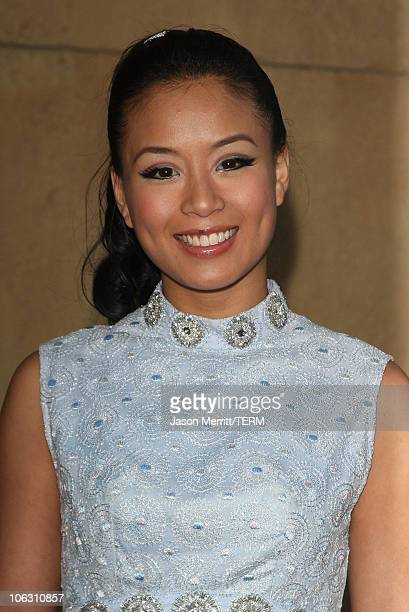Actress TV Carpio arrives for a special screening of 'Across The Universe' at the El Capitan Theatre on September 18 2007 in Hollywood California