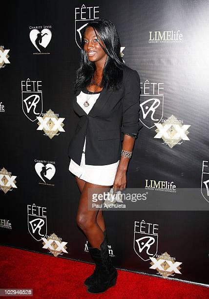 Actress Tyffanee Smith arrives at the 2010 HollyShorts film festival - FETE Networking Event at The Kress on July 16, 2010 in Hollywood, California.