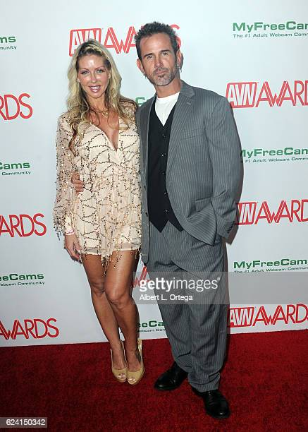Actress Tylo Duran And Actor Rusty Nails Arrive For The 2017 Avn Awards Nomination Party Held