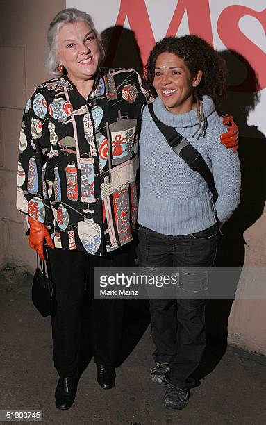 Actress Tyne Daly and her daughter Alisabeth Brown attend Ms Magazine's '2004 Women Of The Year' at the Spider Club on November 29 2004 in Los...