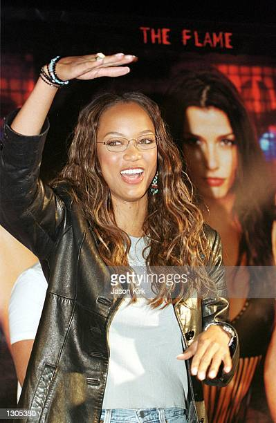 Actress Tyra Banks from the upcoming movie Coyote Ugly appears July 21 in Hermosa Beach CA