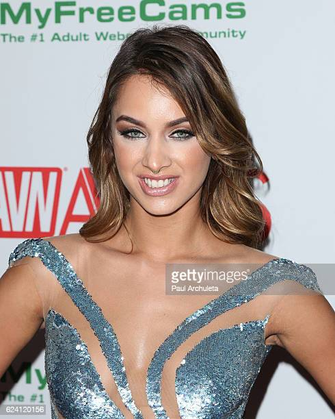 Actress Uma Jolie attends the 2017 AVN Awards nomination party at Avalon on November 17 2016 in Hollywood California