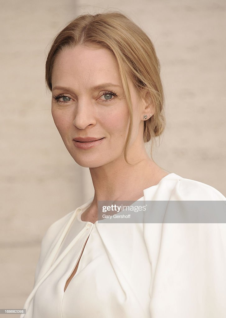 Actress Uma Thurman attends the 2013 American Ballet Theatre Opening Night Spring Gala at Lincoln Center on May 13, 2013 in New York City.
