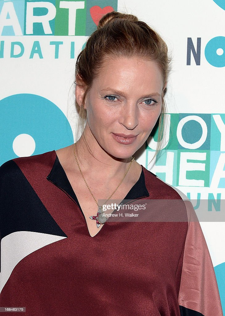 Actress Uma Thurman attends the 2013 Joyful Heart Foundation Gala at Cipriani 42nd Street on May 9, 2013 in New York City.