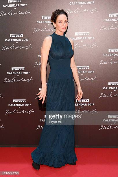 Actress Uma Thurman attends the 2016 Pirelli Calendar unveiling gala at La Cite Du Cinema on November 29 2016 in SaintDenis France