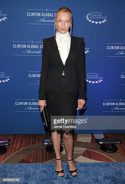 Actress Uma Thurman attends the 8th Annual Clinton Global Citizen Awards at Sheraton Times Square on September 21, 2014 in New York City.