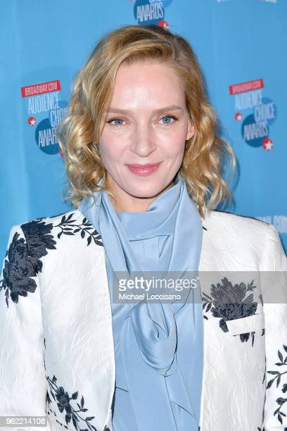 Actress Uma Thurman attends the Broadwaycom Audience Choice Awards at 48 Lounge on May 24 2018 in New York City