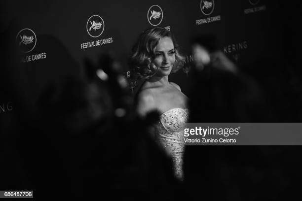 Actress Uma Thurman attends Women In Motion Kering And Cannes Film Festival Official Dinner Photocall during the 70th Cannes Film Festival on May 21...