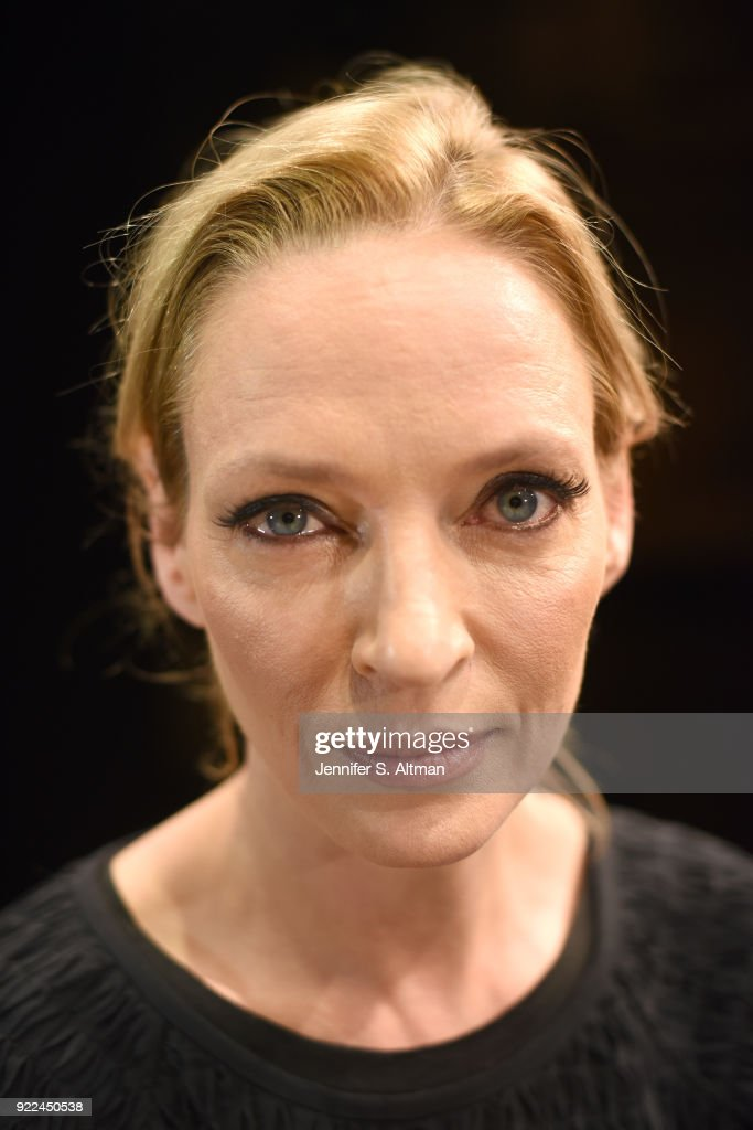 Uma Thurman, Boston Globe, November 23, 2017 : Fotografía de noticias