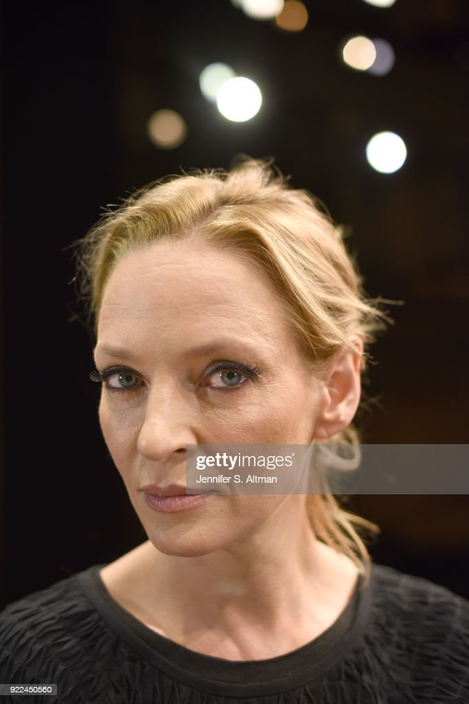 Uma Thurman, Boston Globe, November 23, 2017 : Nachrichtenfoto