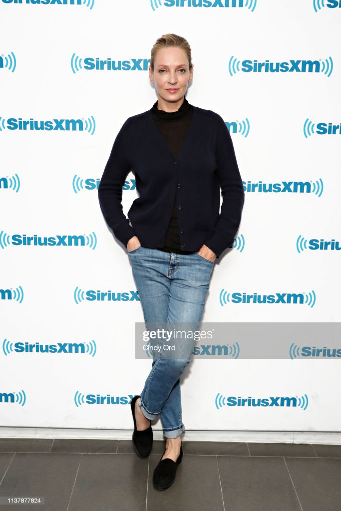 NY: Celebrities Visit SiriusXM - April 18, 2019