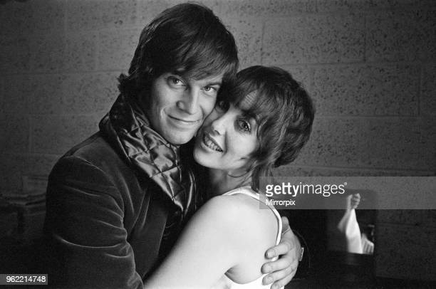 Actress Una Stubbs and her husband Nicky Henson are appearing in the play 'The Soldier's Tale' at the Young Vic Theatre 27th September 1970