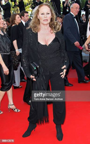 Actress Ursula Andress attends the premiere of 'Biutiful' held at the Palais des Festivals during the 63rd Annual International Cannes Film Festival...