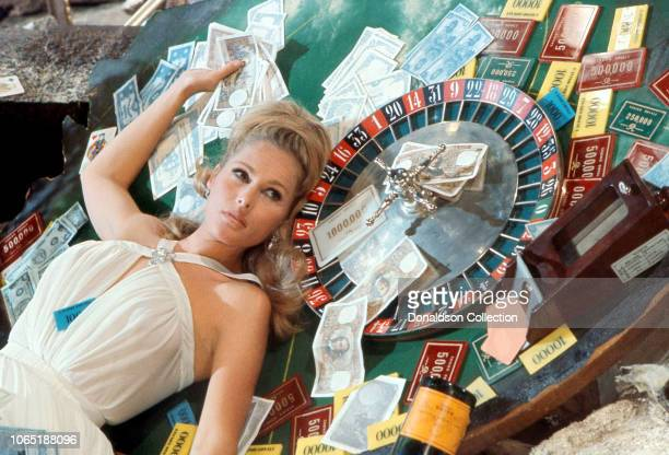Actress Ursula Andress in a scene from the movieCasino Royale