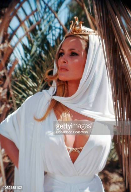 Actress Ursula Andress in a scene from the movieShe