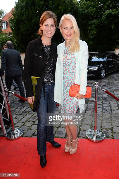 Actress Ursula Buschhorn and Sonja Kiefer attend the Audi Director's Cut during the Munich Film Festival 2013 on June 29 2013 in Munich Germany