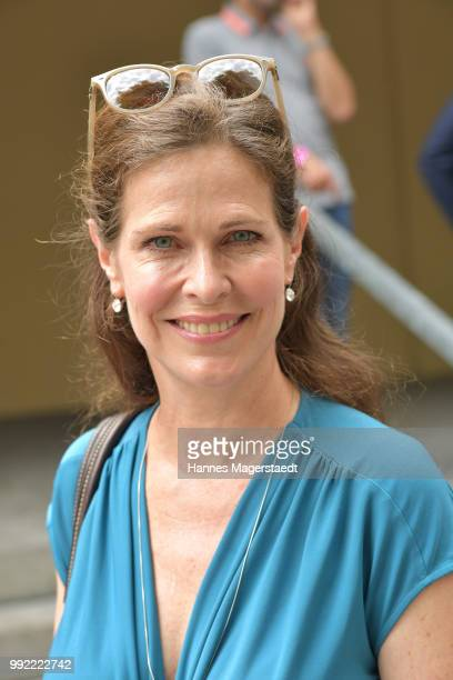 Actress Ursula Buschhorn attends the FFF reception during the Munich Film Festival 2018 at Praterinsel on July 5 2018 in Munich Germany