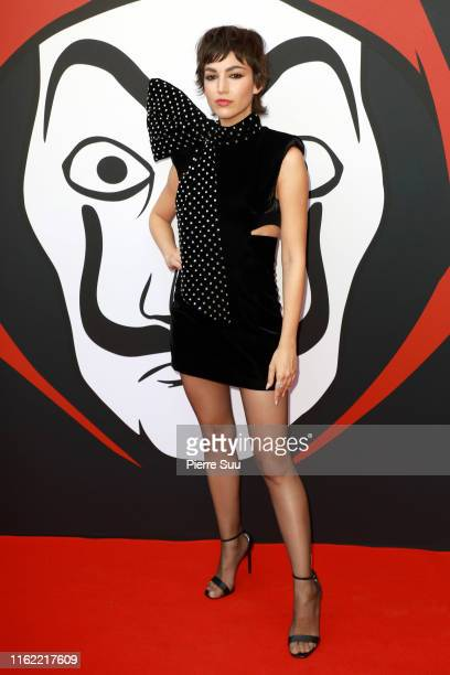 Actress Ursula Corbero attends the La Casa De Papel Premiere At Monnaie De Paris on July 15 2019 in Paris France