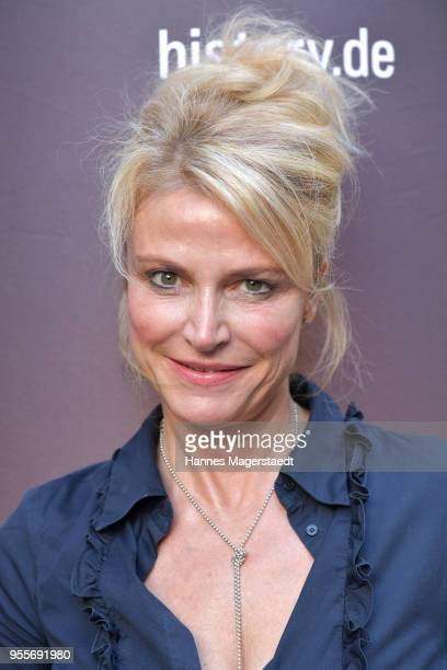 Actress Ursula Gottwald attends a photo call for new documentary 'Guardians of Heritage Hueter der Geschichte' by German TV channel HISTORY on May 7...