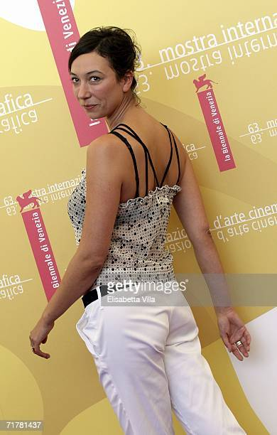 Actress Ursula Strauss attends the photocall to promote the film 'Fallen' during the sixth day of the 63rd Venice Film Festival on September 4 2006...