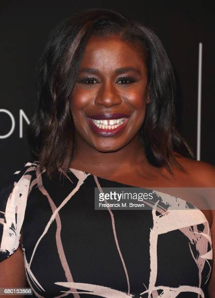 Actress Uzo Aduba arrives at the Netflix FYSee Kick Off Event at Netflix FYSee Space on May 7 2017 in Beverly Hills California