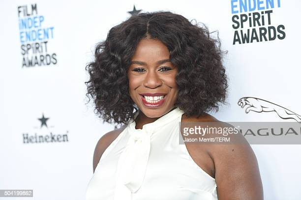 Actress Uzo Aduba attends 2016 Film Independent Filmmaker Grant and Spirit Award Nominees Brunch at BOA Steakhouse on January 9 2016 in West...