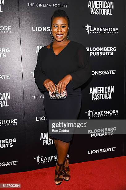 Actress Uzo Aduba attends a screening of American Pastoral at the Museum of Modern Art on October 19 2016 in New York City