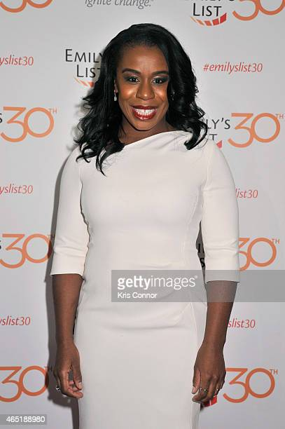 Actress Uzo Aduba attends EMILY's List 30th Anniversary Gala at Washington Hilton on March 3 2015 in Washington DC