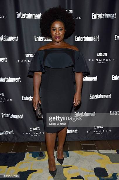 Actress Uzo Aduba attends Entertainment Weekly's Toronto Must List party at the Thompson Hotel on September 10 2016 in Toronto Canada