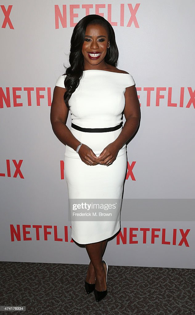 Actress Uzo Aduba attends Netflix's 'Orange Is The New Black' For Your Consideration Screening and Q & A at the Directors Guild Of America on May 20, 2015 in Los Angeles, California.