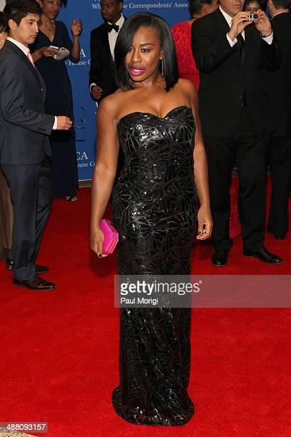 Actress Uzo Aduba attends the 100th Annual White House Correspondents' Association Dinner at the Washington Hilton on May 3, 2014 in Washington, DC.