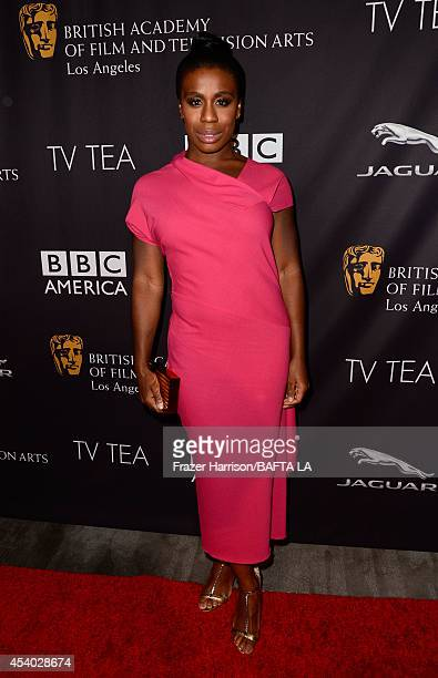 Actress Uzo Aduba attends the 2014 BAFTA Los Angeles TV Tea presented by BBC America And Jaguar at SLS Hotel on August 23 2014 in Beverly Hills...